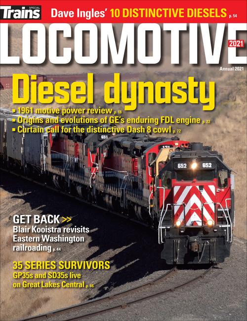 Trains Magazine, Special Edition 34-2021, Locomotive Annual 2021