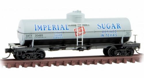 Micro-Trains N 06500196 39' Single Dome Tank Car, Imperial Sugar #30465