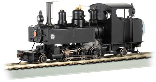 Bachmann On30 29505 2-6-2T Baldwin Class 10 Steam Locomotive, Undecorated