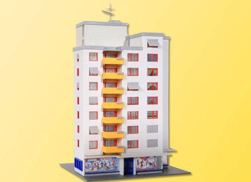 Kibri N 37120 Highrise Tower with Retail Store Kit