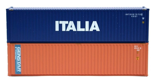 Jacksonville Terminal Company N 405807 40' High Cube Containers, Italia/Genstar (2)