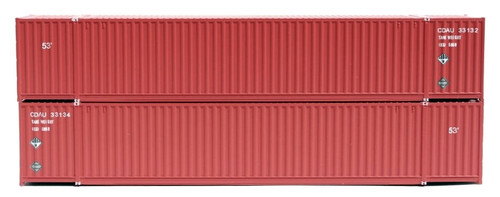 Jacksonville Terminal Company N 535049 53' High Cube 6-42-6 Containers, Canadian Tire (2)