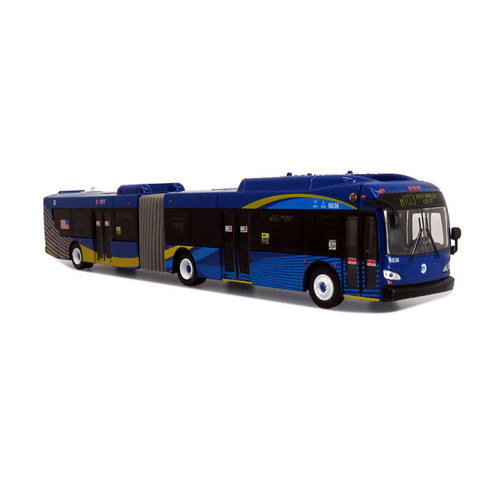 Iconic Replicas 87-0307 NFI Xcelsior XD60 Articulated Transit Bus, MTA New York City
