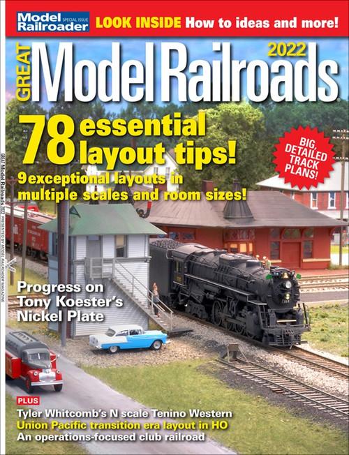 Great Model Railroads 2022, Model Railroader Magazine Special Issue