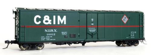 Moloco HO 51003-02 PCF 50' RBL Box Car, NIRX (C&IM Leased) #10013
