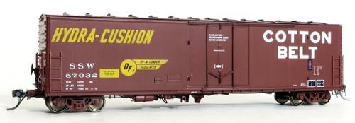 Moloco HO 51051-01 PCF 50' RBL Box Car, Cotton Belt #57032