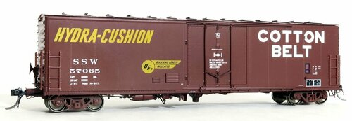 Moloco HO 51053-03 PCF 50' RBL Box Car, Cotton Belt #57073