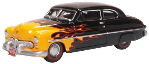 Oxford Diecast HO 87ME49009 1949 Mercury 8 Coupe, Hot Rod