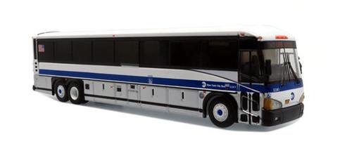 Iconic Replicas HO 87-0273 MCI D4505 Motor Coach, MTA New York City