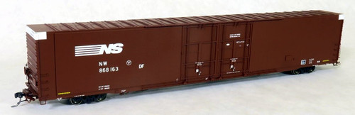 Tangent Scale Models HO 25026-05 Greenville 86' Double Plug Door Box Car, Norfolk Southern #868191