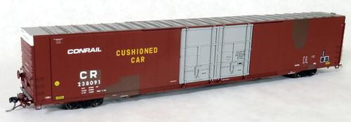 Tangent Scale Models HO 25029-01 Greenville 86' Double Plug Door Box Car, Conrail (ex-PRR) #238091