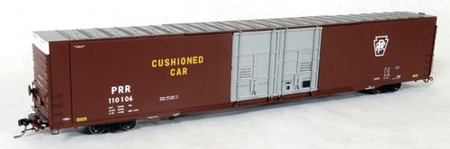 Tangent Scale Models HO 25032-01 Greenville 86' Double Plug Door Box Car, Pennsylvania Railroad #110023