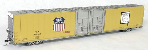 Tangent Scale Models HO 25033-03 Greenville 86' Double Plug Door Box Car, Union Pacific #980311