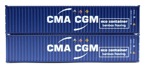 Jacksonville Terminal Company N 405346 40' Standard Height Containers, CMA CGM (2)