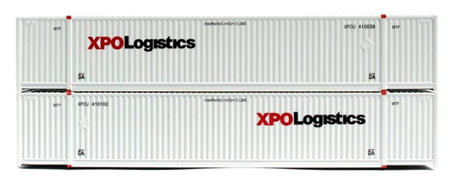 Jacksonville Terminal Company N 537047 53' High Cube 8-55-8 Containers, XPO Logistics #2 (2)