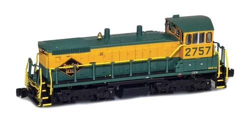 American Z Line Z 62712-1 EMD SW1500, Reading #2757