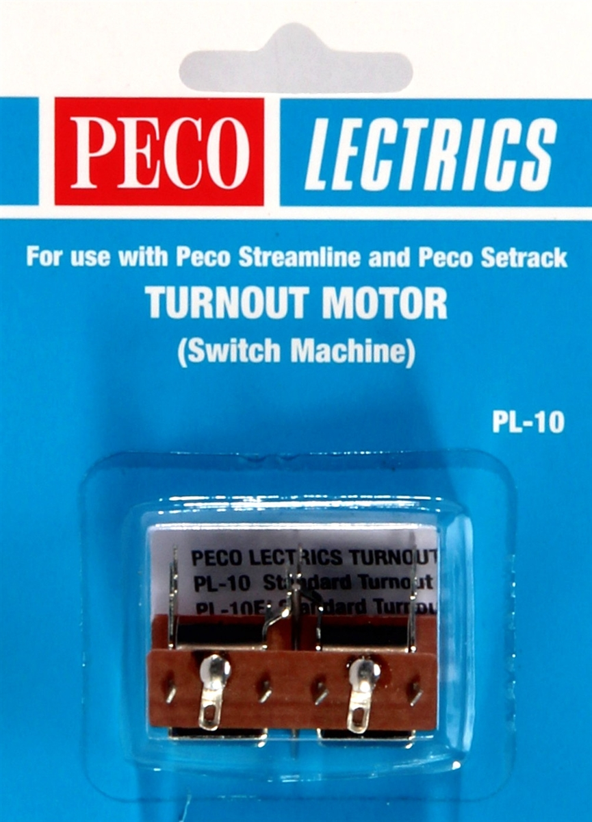 SWITCH MACHINE NEW. PECO LECTRICS PL-10 TURN OUT MOTOR
