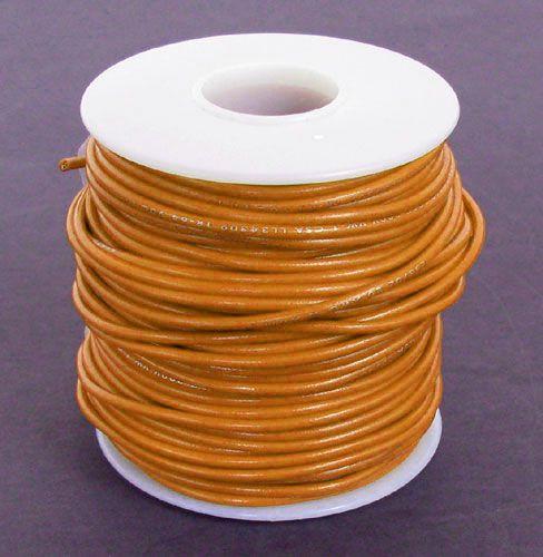 a e  corporation 18or-100 18 ga orange hook-up wire, stranded 100'