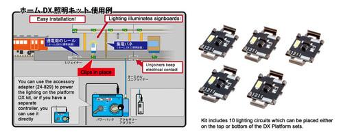 kato n 23000 suburban platform dx lighting kit
