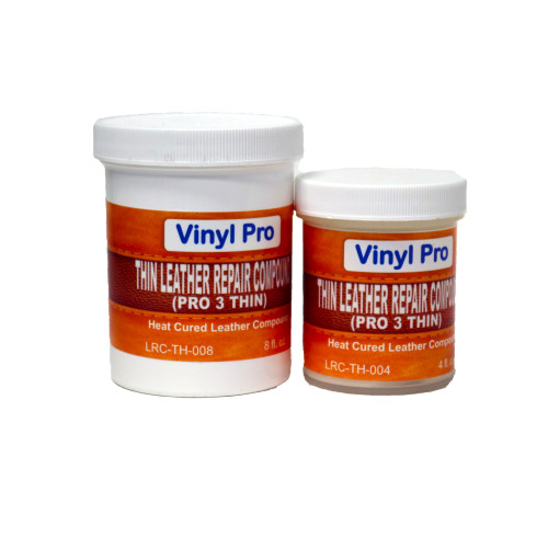 Thin Leather Repair Compound (Pro 3 Thin)  (032 oz - Quart)