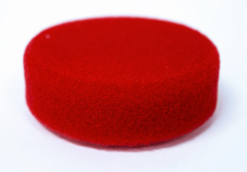 """HR Polishing Pad - 3"""" Red Soft"""