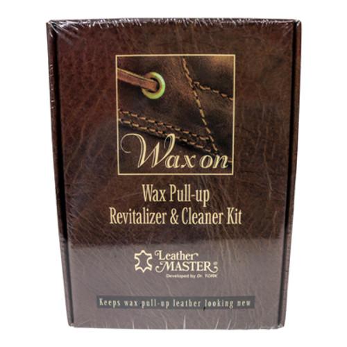 Leather Master Wax-On Kit