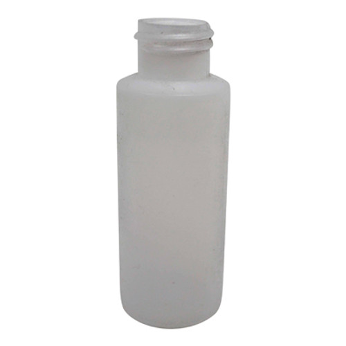 Bottle- 4 oz Cylinder, Natural HDPE (24/410)