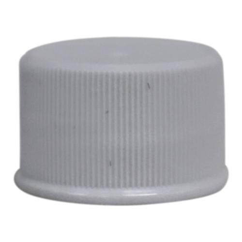 Cap- 24/410 White Ribbed