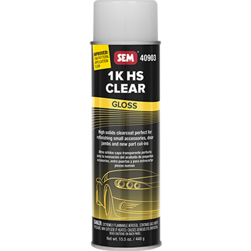1K HS Clear: Gloss