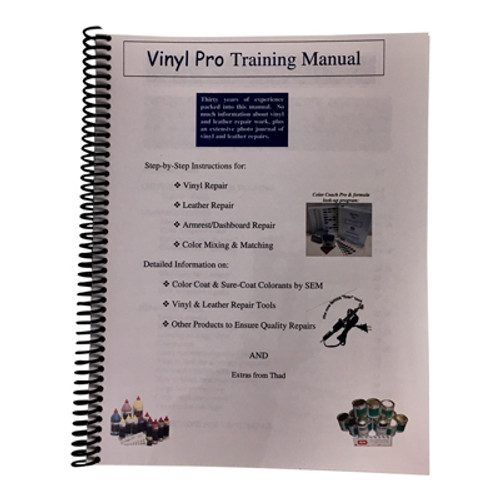 Vinyl Pro's Training Manual