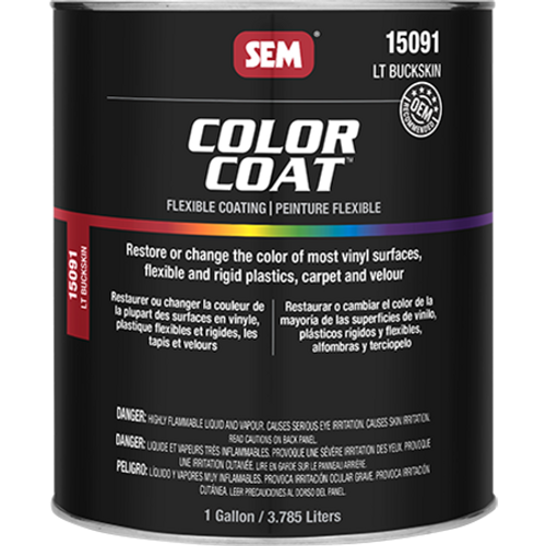Color Coat: Light Buckskin (032 oz - Cone Quart)
