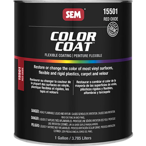 Color Coat: Red Oxide (032 oz - Cone Quart)
