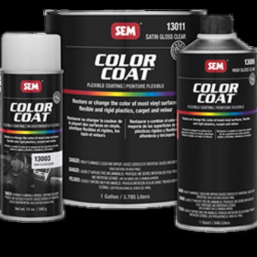 Color Coat: Satin Gloss Clear (008 oz)