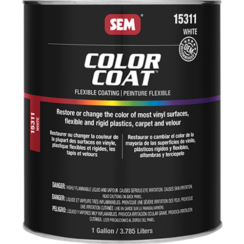 Color Coat: White (8 oz)