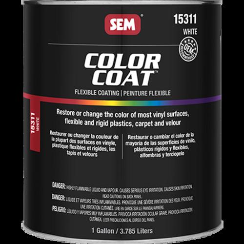 Color Coat: White (032 oz - Cone Quart)