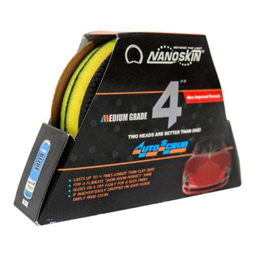 "NS AutoScrub 4"" Pad Fine (2 pack)"