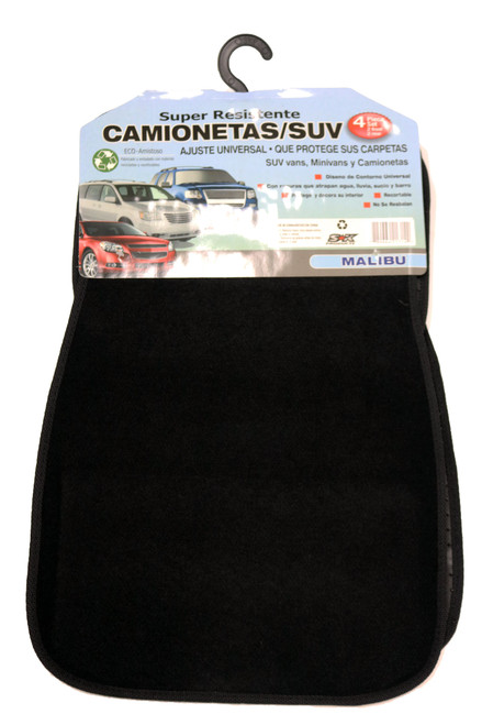 Carpet Mat: Better Malibu (Black)