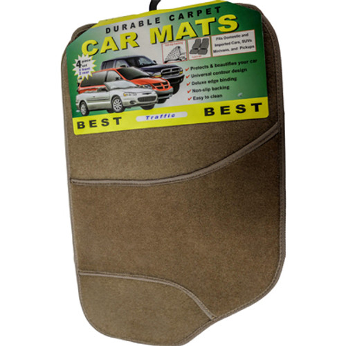 Carpet Mat: Best Traffic (Tan)