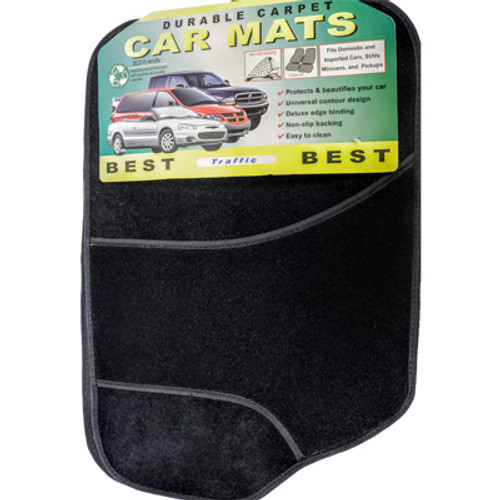 Carpet Mat: Best Traffic (Black)