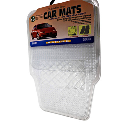 Carpet Mat: Vinyl (Clear)