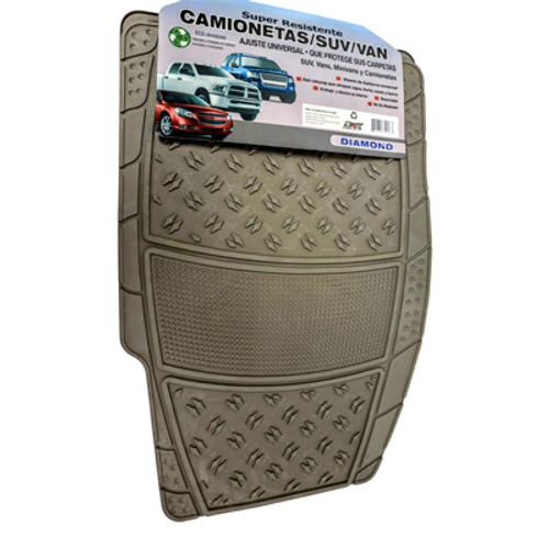 Carpet Mat: Diamond Rubber (Tan)