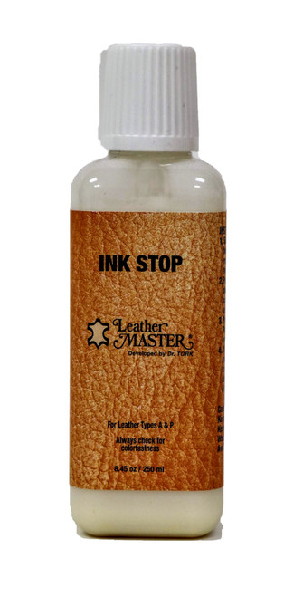 Leather Master Ink Stop