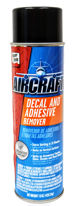Aircraft Decal & Adhesive Remover (A)