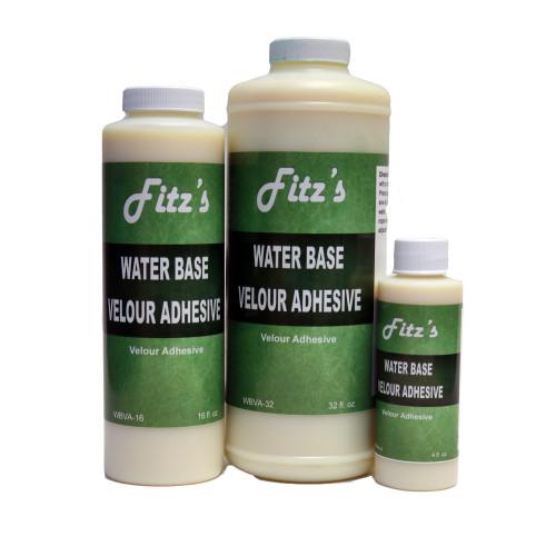 Water Base Velour Adhesive (032 oz - Quart)