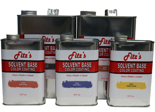 Fitz Color Coat: Red Oxide (Quart)