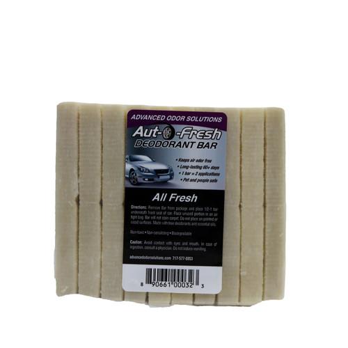 Auto Fresh Deodorant Bars Service Pack (10) Allfresh