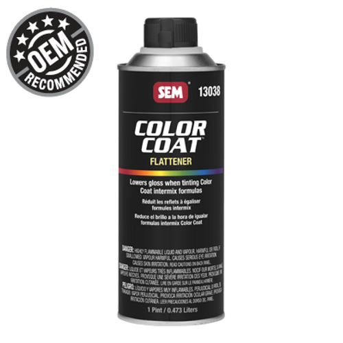 Color Coat: Flattener (016 oz - Pint)