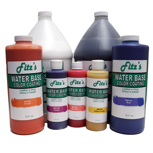 Fitz Water Base: Medium Yellow (064 oz - Half Gallon)