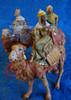 "Kings on Camels - 5"" Fontanini Nativity Wisemen Set 71514"