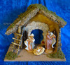 "7.5"" Fontanini Nativity Set with Large Wooden Stable 54850"